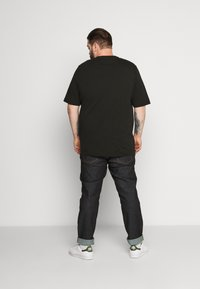 Tommy Hilfiger - GLOBAL STRIPE TEE - T-shirt print - black - 2