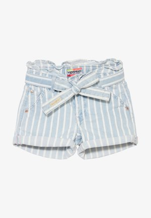 DALMINE - Denim shorts - blue