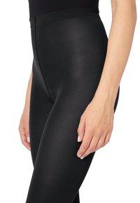 Wolford - VELVET - Leggings - Trousers - black - 4