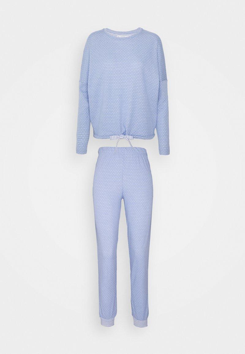 Women Secret - DOUBLE SET - Pyjamas - forever blue