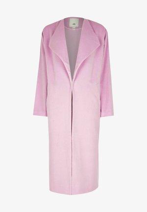 Manteau classique - pink