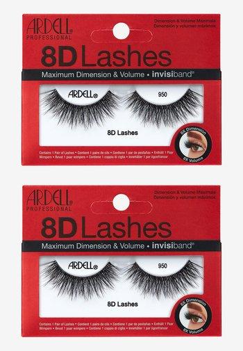 8D LASHES 2ER PACK - False eyelashes - 950