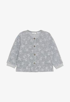 NBFNAIA - Zip-up hoodie - grey melange