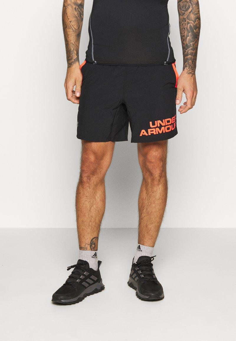 Under Armour - SPEED STRIDE GRAPHIC SHORT - Sportovní kraťasy - black/beta