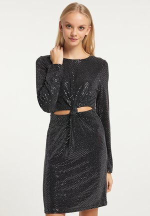 Cocktail dress / Party dress - silber schwarz