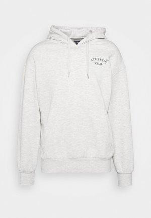 JORTOBIAS HOOD CHEST UNISEX - Sweater - white melange