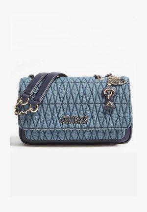Across body bag - mehrfarbig, grundton blau