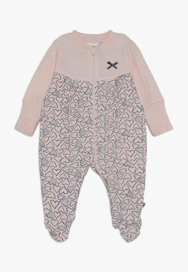 SCHLAFANZUG MIT UMSCHLAGHANDSCHUH KOALA BEAR - Pyjamas - rosa