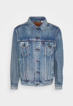 VINTAGE FIT TRUCKER UNISEX - Denim jacket - light blue denim