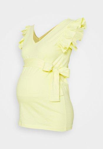 MLIBI - Triko spotiskem - elfin yellow