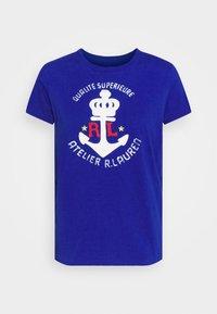 Polo Ralph Lauren - Print T-shirt - heritage royal - 4