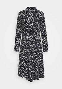 Danefæ København - PRIMEUR DRESS - Shirt dress - navy/beige - 1