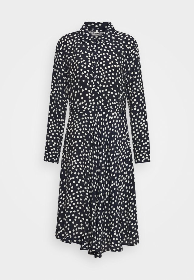 PRIMEUR DRESS - Paitamekko - navy/beige