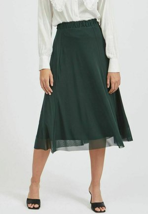 VIGORGEOUS  - A-line skirt - darkest spruce