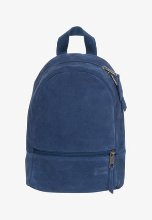 LEATHER SUEDE/TRIBUTE - Rucksack - blue
