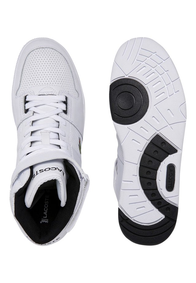 LACOSTE SPORT - CHAUSSURES HOMME SPORT - High-top trainers - wht/blk