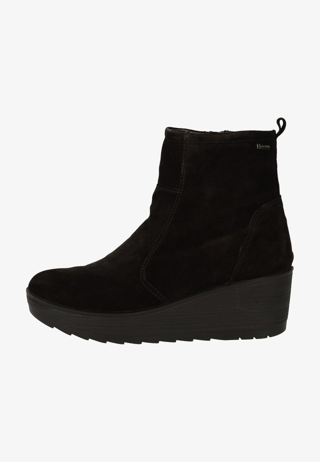 Wedge Ankle Boots - nero 11