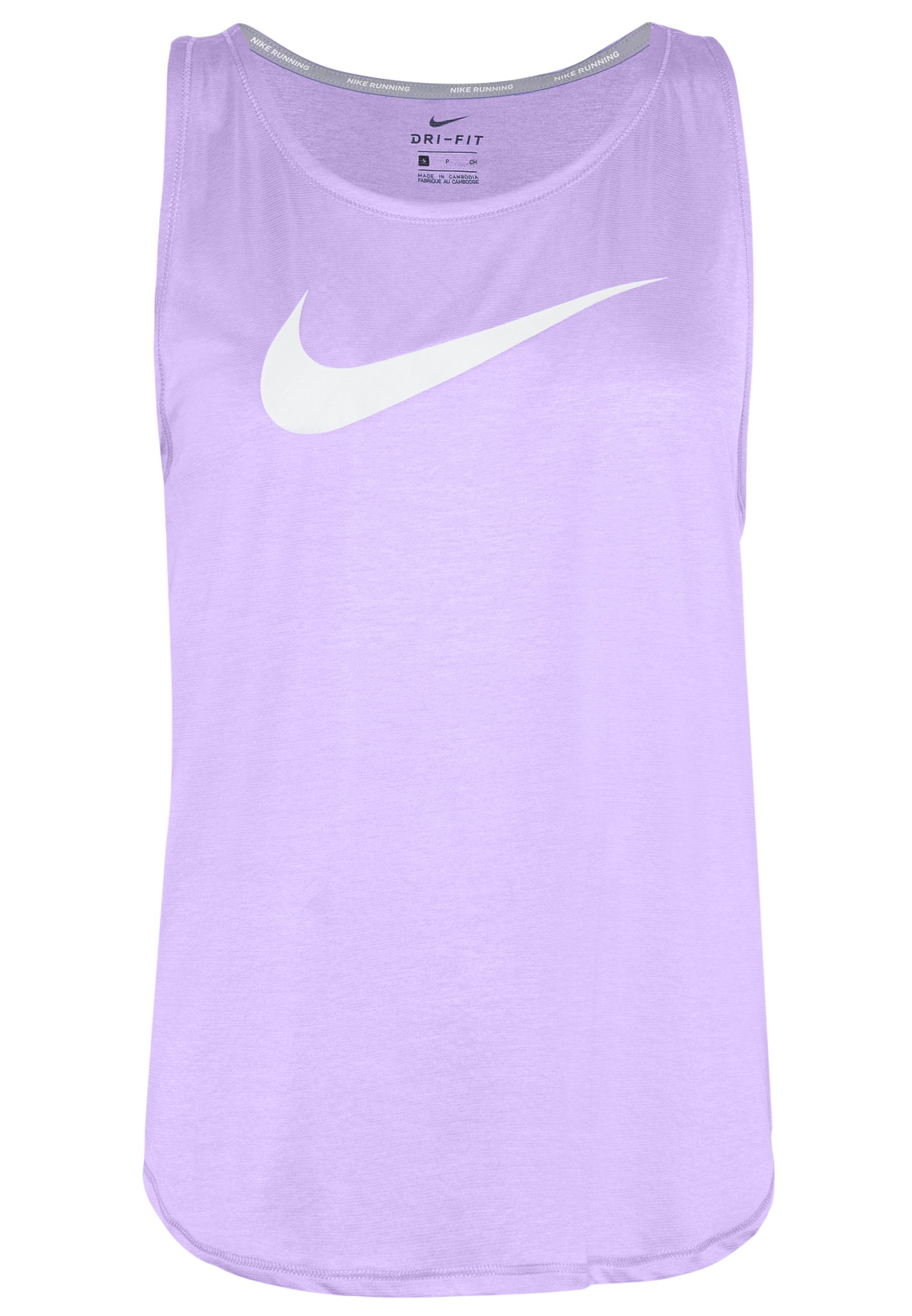 Nike Performance TANK RUN - Funktionstrøjer - topaz gold/reflective silver -  MH8hH