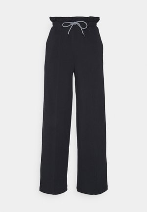 INFUSE PAPERBAG PANTS - Tracksuit bottoms - black