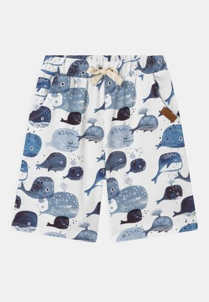 WHALES UNISEX - Shorts - light blue