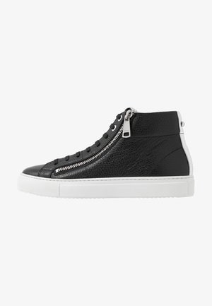 HOXTON MID CUT - High-top trainers - black