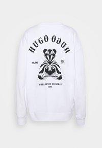 HUGO - DASHIMARA - Sweatshirt - white - 7