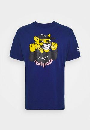 T-shirts print - sodalite blue