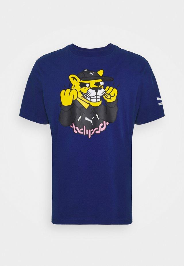 Camiseta estampada - sodalite blue