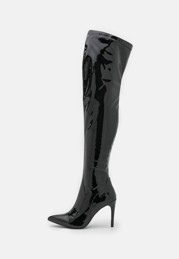VICKIE - Over-the-knee boots - black