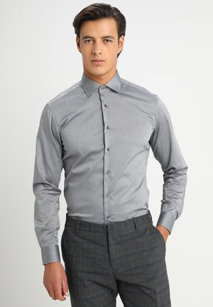 SLIM FIT - Camicia elegante - dark grey