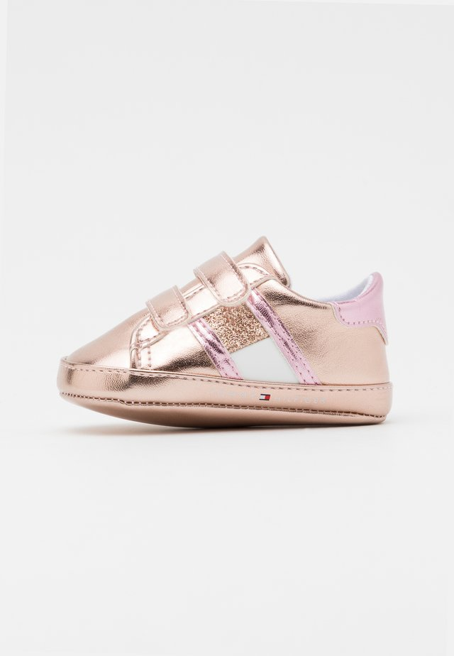 First shoes - rose gold