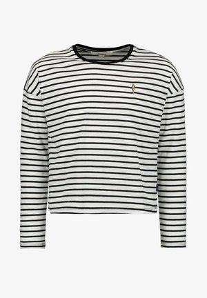 Langarmshirt - off black