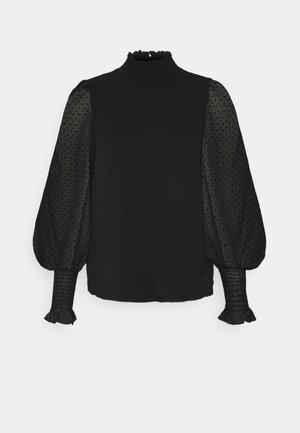 VMBARLETTA HIGH NECK - Bluser - black