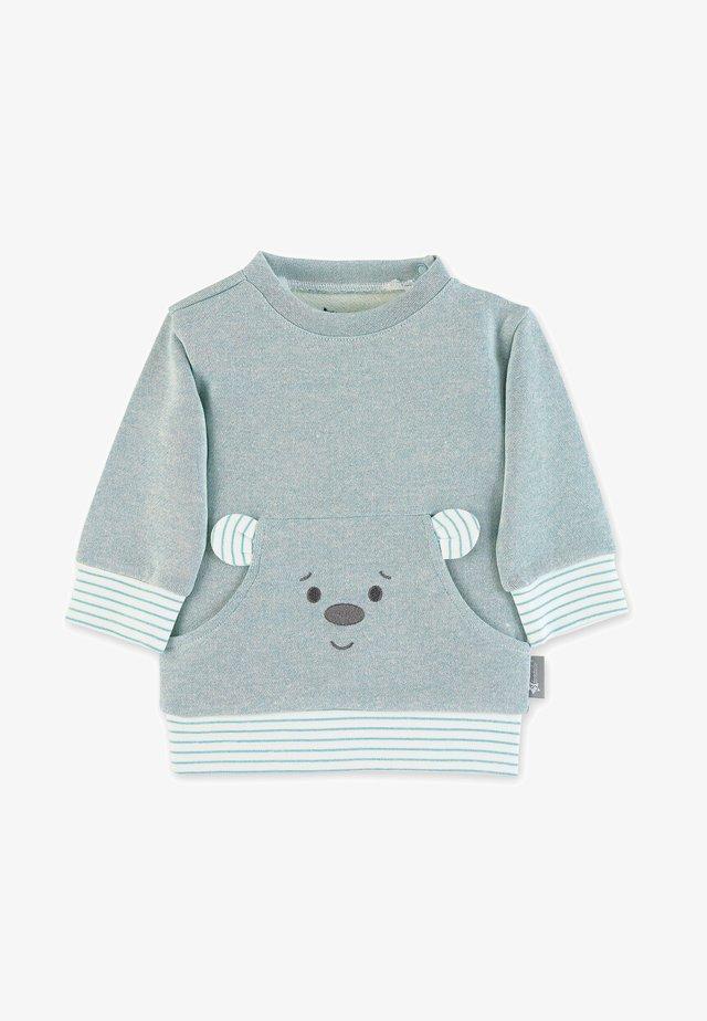 Sweatshirt - dunkeltürkis