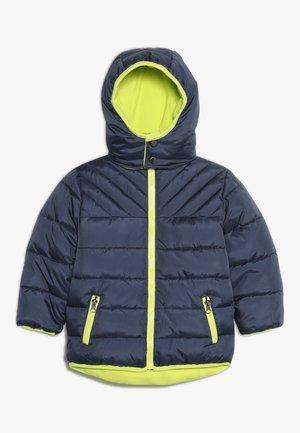 Zimní bunda - jeansblau