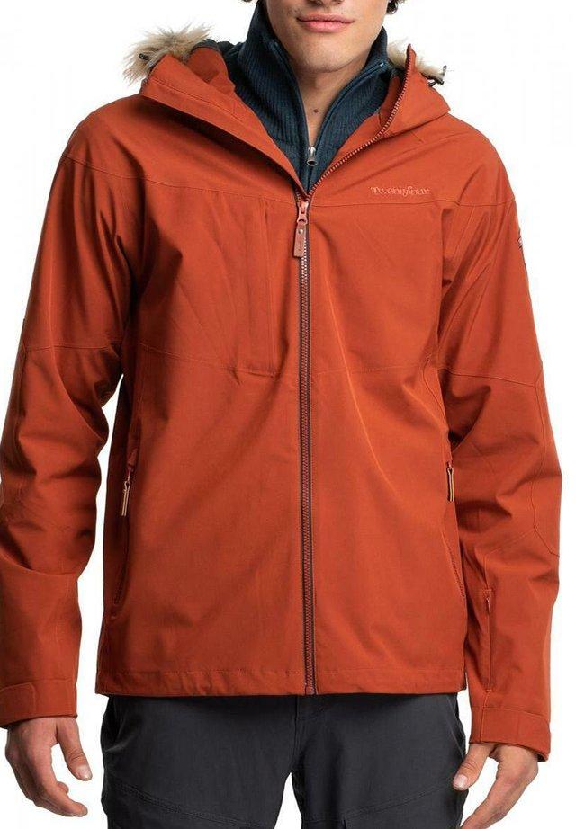 Snowboard jacket - mørk tegl
