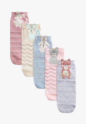 5 PACK PRETTY CHARACTER  - Socks - multi coloured