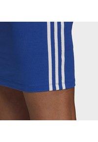 adidas Originals - TANK DRESS - Vestido de tubo - team royal blue/white - 11