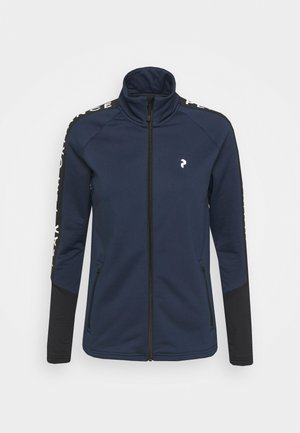 RIDER ZIP JACKET - Giacca in pile - blue shadow