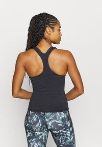 Sweaty Betty - SUPER SCULPT YOGA  - Sports shirt - black marl - 2