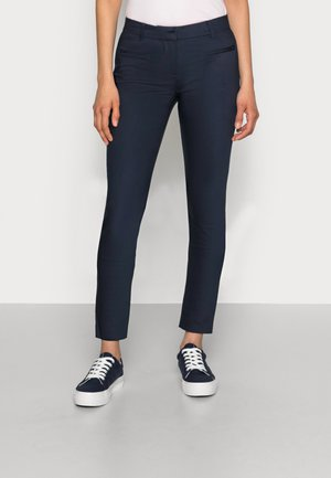 HERITAGE SLIM FIT PANTS - Trousers - midnight