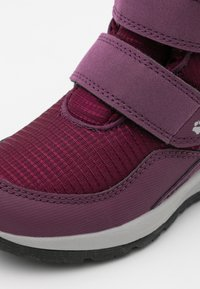 Jack Wolfskin - POLAR WOLF TEXAPORE MID VC UNISEX - Winter boots - purple/coral - 5