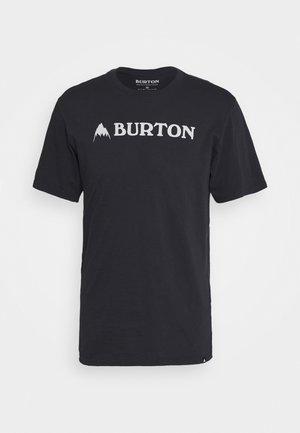 HORIZONTAL - T-Shirt print - true black