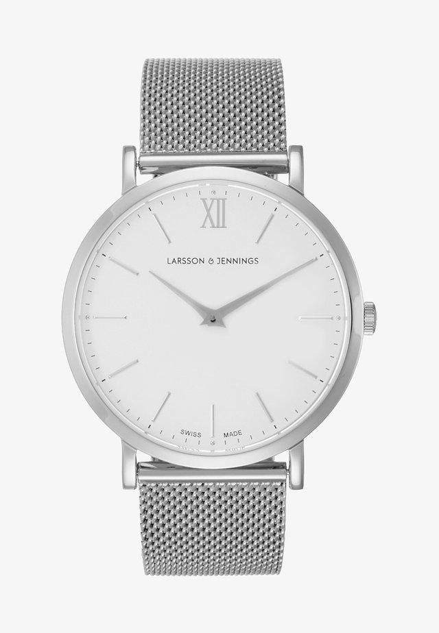 LUGANO - Rannekello - silver white