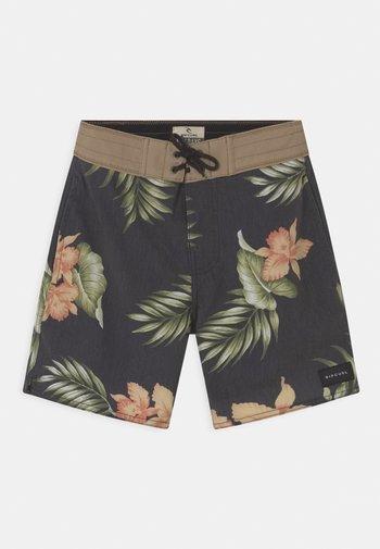 ZIGGY LAYDAY - Swimming shorts - black