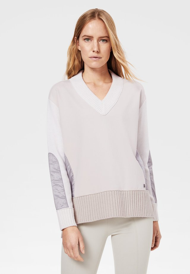 TYRA - Pullover - off-white/beige