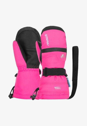 KADIR  - Mittens - pink glo
