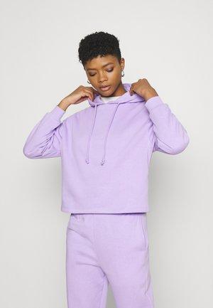 PCCHILLI HOODIE - Bluza z kapturem - lavendar
