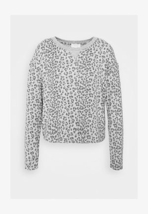 SNIT CREW NECK - Pyžamový top - heather grey