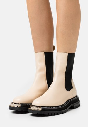 BOTTINES - Platform ankle boots - ecru